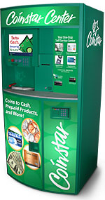 Coinstar machine