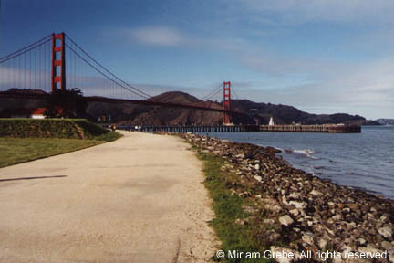 Golden Gate Bridge by Miriam Grebe Images