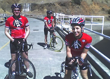 Team GGTC at Alpine Dam