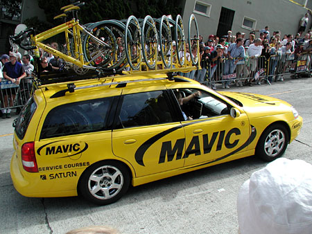 Mavic support car (photo from 2003)