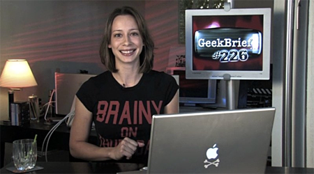 Cali Lewis from Geek Brief with