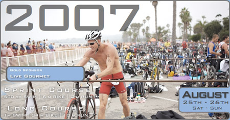 Santa Barbara Triathlon home page image